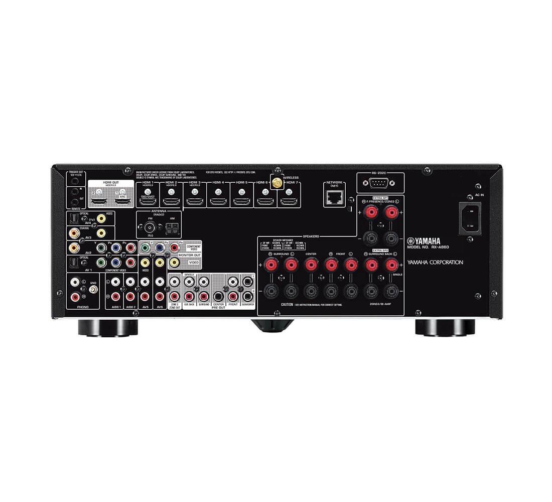 Yamaha RX-A860 - Aansluitingen