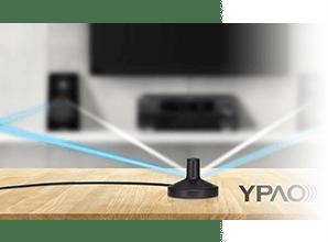Yamaha HTR4072 - YPAO