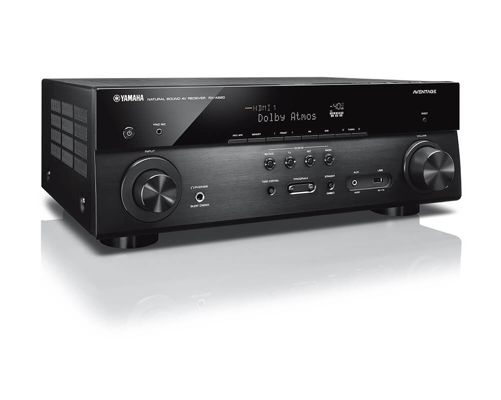 yamaha rx a680 zwart receivers plattetv uw. Black Bedroom Furniture Sets. Home Design Ideas