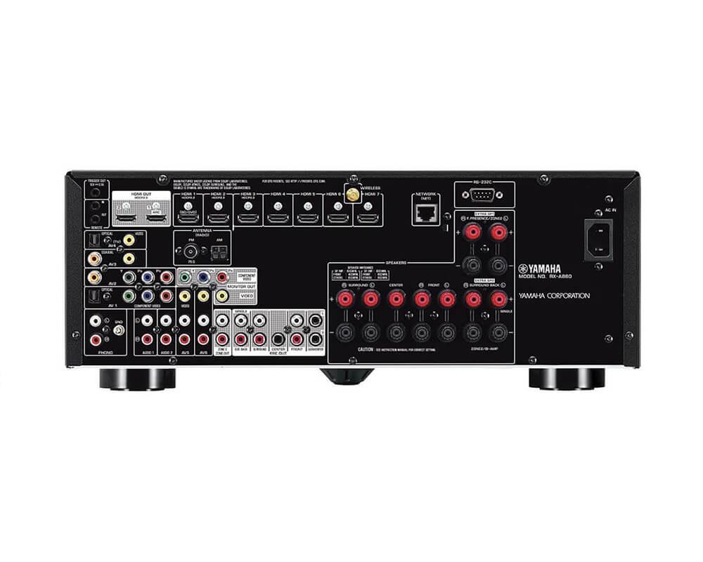 yamaha rx a860 zwart uitlopende modellen plattetv uw specialist in televisie audio. Black Bedroom Furniture Sets. Home Design Ideas