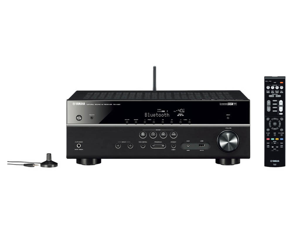 yamaha rx v481 dab zwart receivers plattetv uw. Black Bedroom Furniture Sets. Home Design Ideas