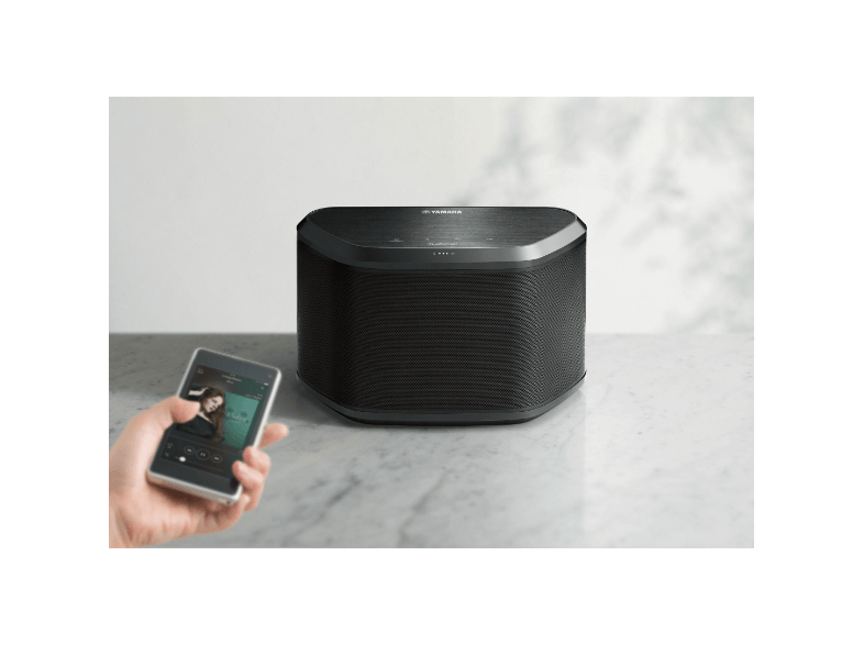 yamaha musiccast wx 030 zwart wifi speakers plattetv. Black Bedroom Furniture Sets. Home Design Ideas