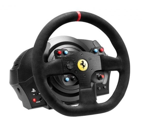 thrustmaster t300 ferrari integral racing wheel gaming. Black Bedroom Furniture Sets. Home Design Ideas