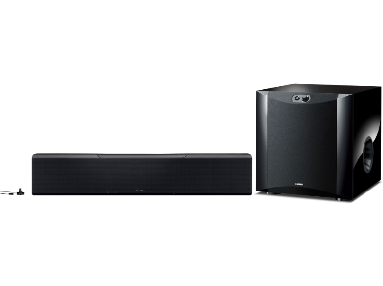 yamaha ysp 5600 yamaha ns sw300 soundbars plattetv. Black Bedroom Furniture Sets. Home Design Ideas