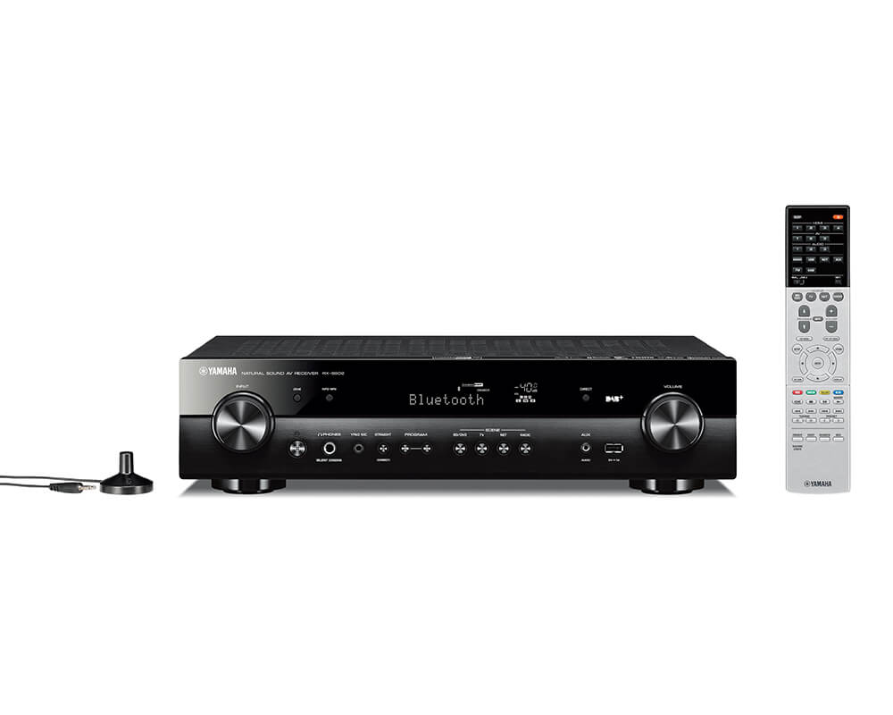yamaha rx s602 dab zwart receivers plattetv uw. Black Bedroom Furniture Sets. Home Design Ideas