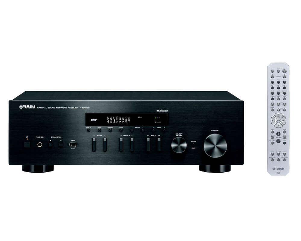 yamaha r n402d zwart receivers plattetv uw. Black Bedroom Furniture Sets. Home Design Ideas