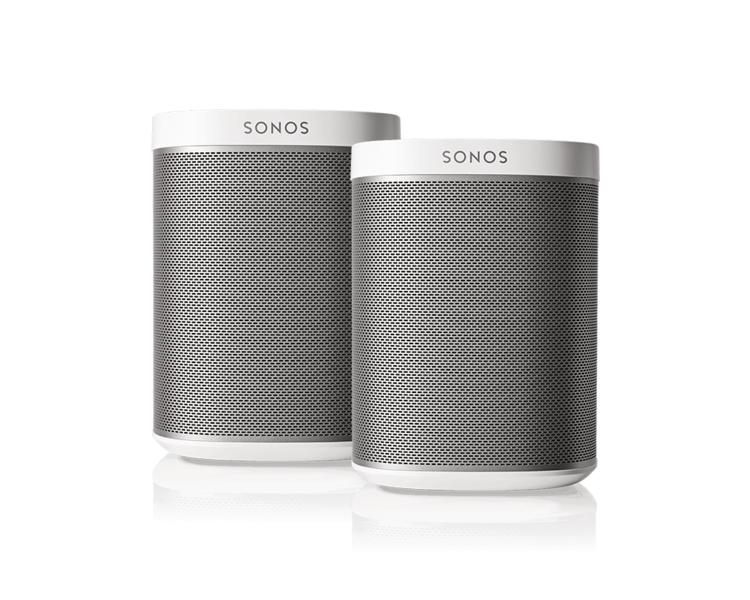 Sonos Play1 Wit Bundel Wifi Speakers Plattetv Uw