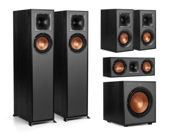 Klipsch R-610-F 5.1 Home Cinema Set