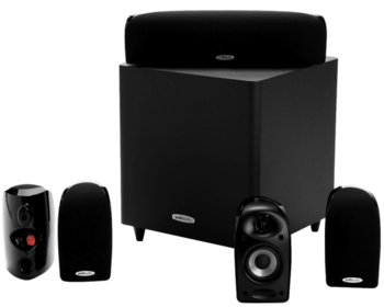 Polk Audio TL1600 (5.1 Speakerset) Zwart