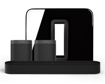 Sonos 5.1 Home Cinema Set Beam en One SL Zwart