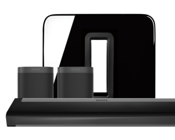 Sonos 5.1 Home Cinema Set Playbar en One Zwart