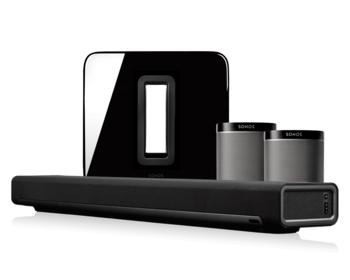 Sonos 5.1 Home Cinema Set Playbar en Play:1 Reviews