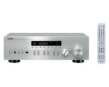 yamaha r n402d zilver receivers plattetv uw. Black Bedroom Furniture Sets. Home Design Ideas